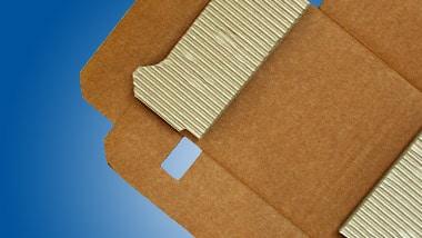 Speziell angefertigte Verpackung aus Wellpappe