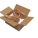 Gepolstertes Paket mit Papier