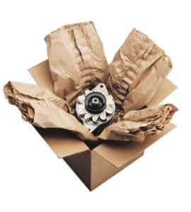 Schweres Packgut sicher gepolstert