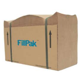 Ein gebündeltes Paket FillPak Papier