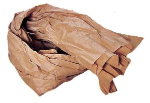 Knüllpapier zum Füllen und Polstern