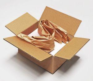 Gepacktes Paket mit FillPak Papier