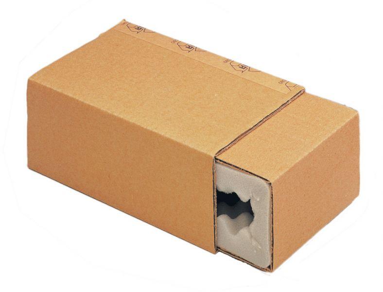 Bild einer Noppenschaumverpackung inklusive Umkarton