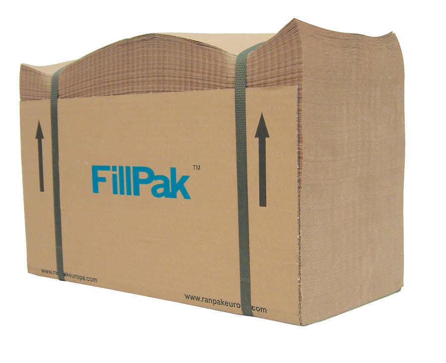 Ein Paket von FillPak Papier