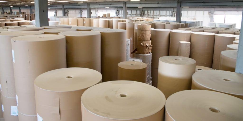 Papierbahnen für die Herstellung von Wellpappe