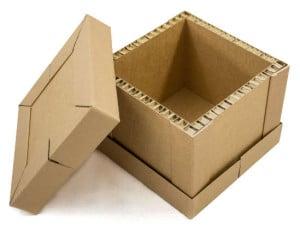 CombraBox - Kartonbox aus dem Material Wabenplatten mit Kantenschutz