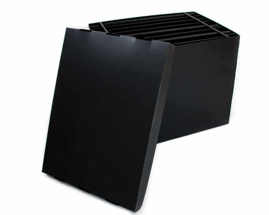 Mehrfach verwendbare Transportbox mit Gefache aus Kunststoff (Hohlkammerplatten)